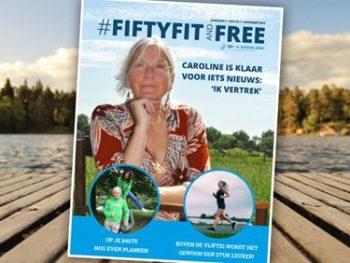 Foto's gemaakt door: ADVERTORIAL - Fifty Fit and Free is het eerste digitale magazine van50plusinnederland.nl. Een 52 pagina's tellend magazine vol interviews en verhalen over sport, bewegen, fit zijn en je vrij voelen. Over op een positieve manier ouder worden, je goed voelen en doen wat je echt wilt. Conclusie: boven de vijftig wordt het gewoon een stuk leuker!