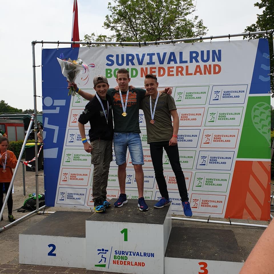 2237b497605 Jarno Visser uit Kootstertille Nederlands Kampioen Survivalrun ...